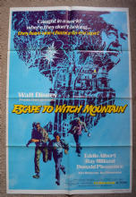 Escape to Witch Mountain Film Poster US One Sheet